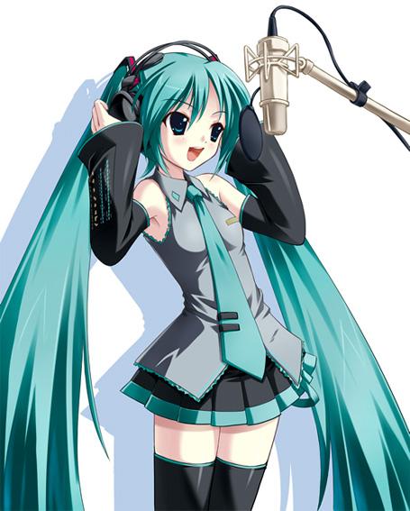 Miku Hatsune sing