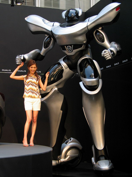 Nissan Dualis Robot2